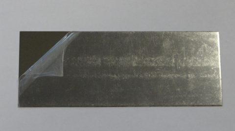 Piastrine in acciaio lunghe